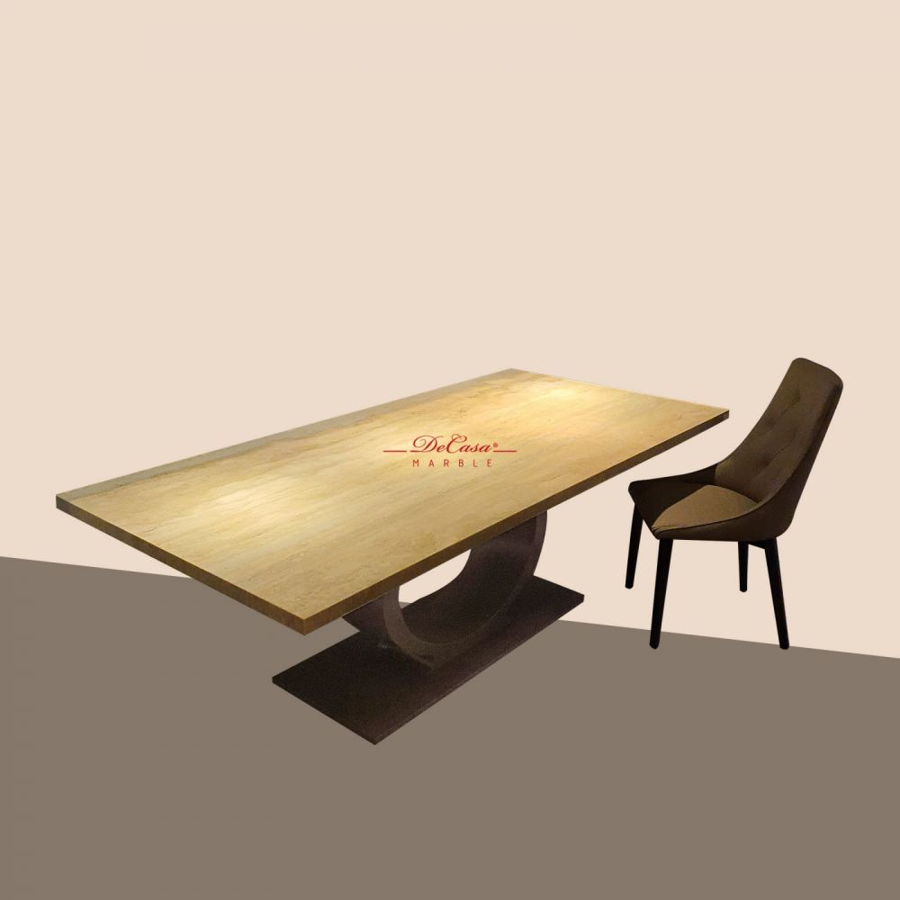 Roma Travertine | Italy | 8 Seaters | Dining Table only