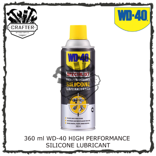360ml WD-40 HIGH PERFORMANCE SILICONE LUBRICANT