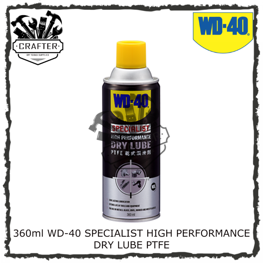 360ml WD-40 SPECIALIST DRY LUBE PTFE