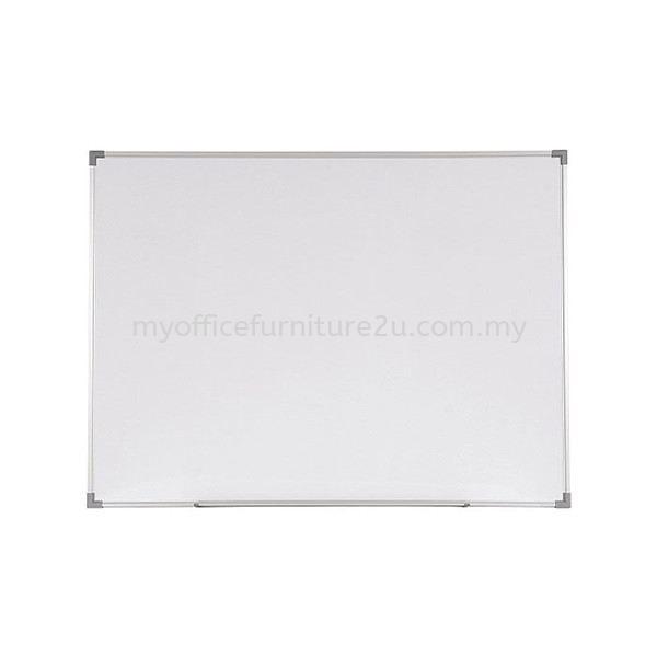 Aluminium Frame Melamine Magnetic Whiteboard (300H x 300L mm)