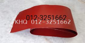 Red Silicone With Diaphragm Insertion Sheet