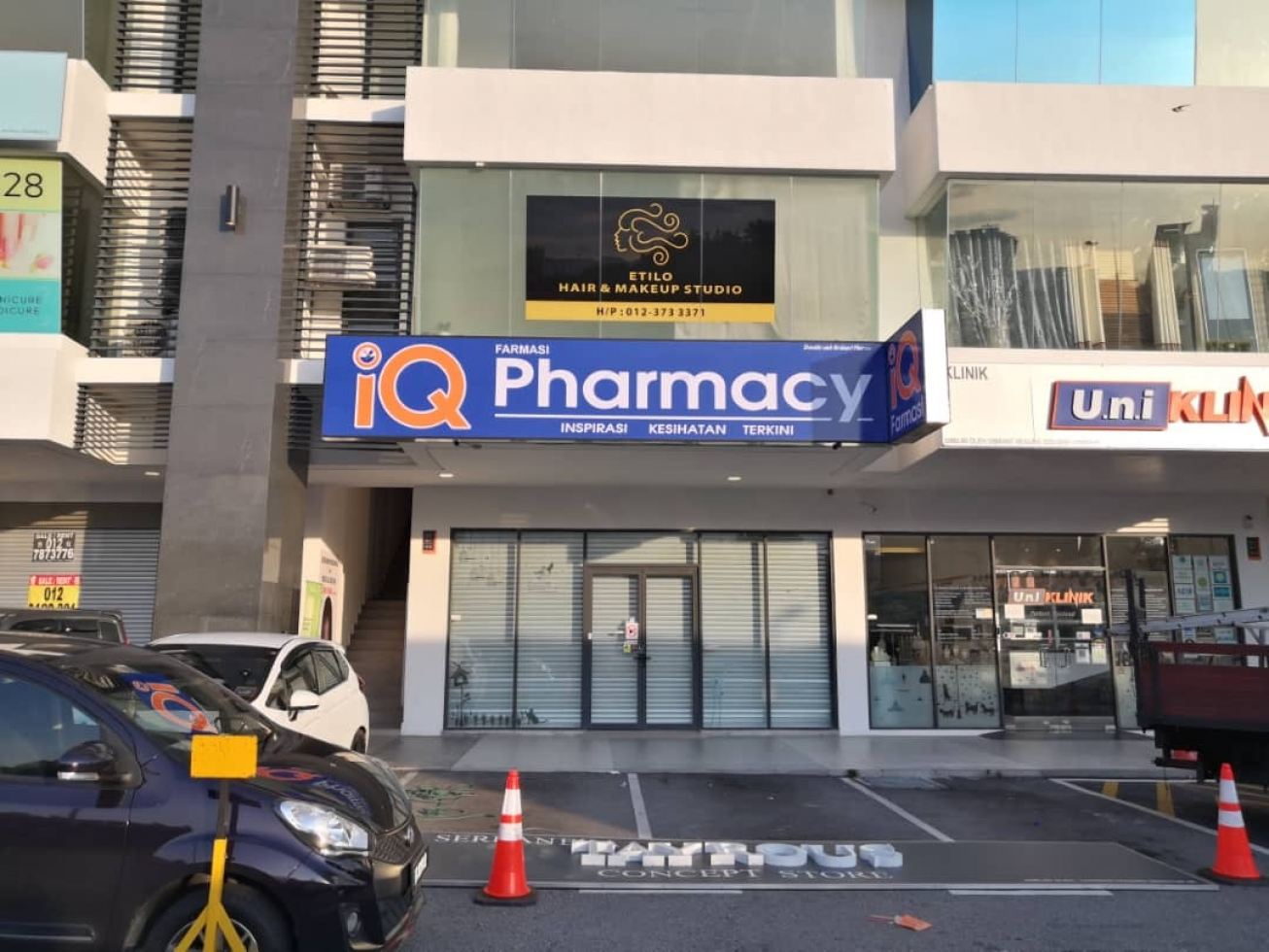 Led Lightboard (iQ Pharmacy)