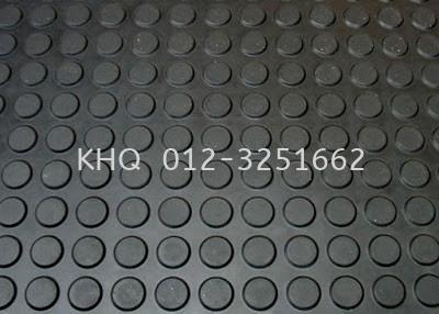 Round Stud Rubber Floor Mat