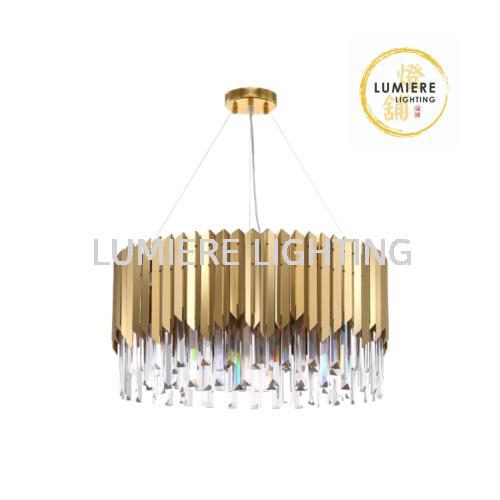 Golden Plated Luxury Chandelier