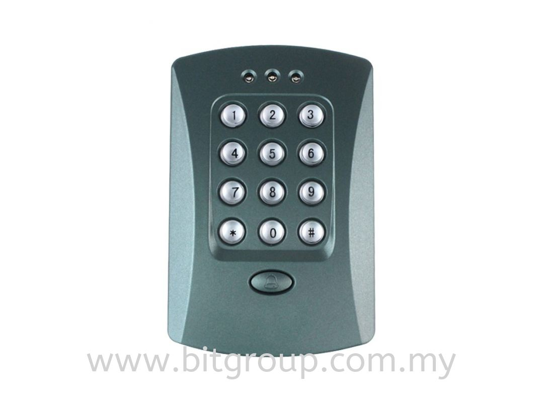 V2000 Door Access Reader - Keypad Only