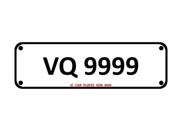 VQ 9999 Golden Number Kuala Lumpur (KL), Malaysia, Selangor Dealer, Supplier, Supply, Supplies | JC Car Plates Sdn Bhd