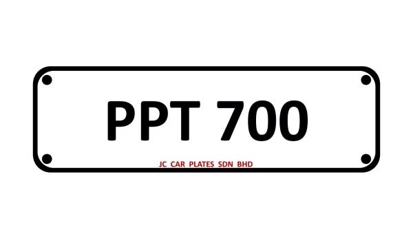PPT 700 SPECIAL NUMBER 3 DIGIT Kuala Lumpur (KL), Malaysia, Selangor Dealer, Supplier, Supply, Supplies | JC Car Plates Sdn Bhd