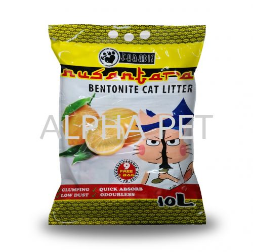 Faradis Nusantara 10 Liter Bentonite Cat Litter (NS6010)