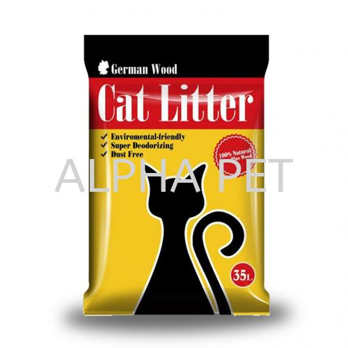 German 35 Liter Wood Cat Litter (WP35L)