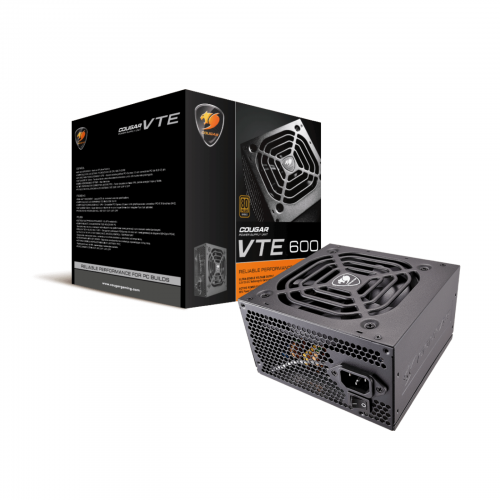 COUGAR VTE 500W | 80 PLUS Bronze Certified PSU