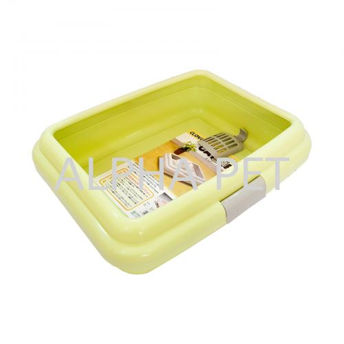 Cat Litter Tray With Cover & Scoop (6556)