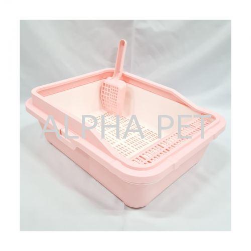 Cat Litter Tray With Cover & Scoop (CFS01AX)