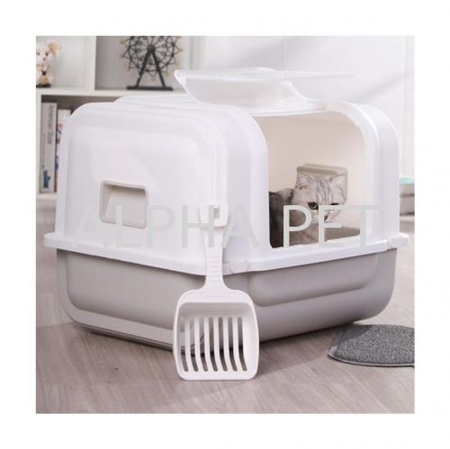 Large Size Cat Toilet With Scoop (CP6009)