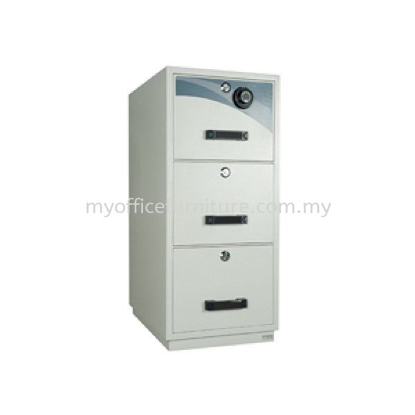 FIRE RESISTANT CABINET 3 DRAWER ~INDIVIDUAL LOCK(RM 2,349.00/UNIT)