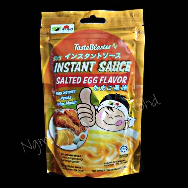 SOY ASAHI Instant Sauce - Salted Egg 100gm Sauce Bakery Ingredient Johor Bahru (JB), Malaysia, Larkin, Century Garden Supplier, Suppliers, Supply, Supplies   Ng Ming Huat (JB) Sdn Bhd