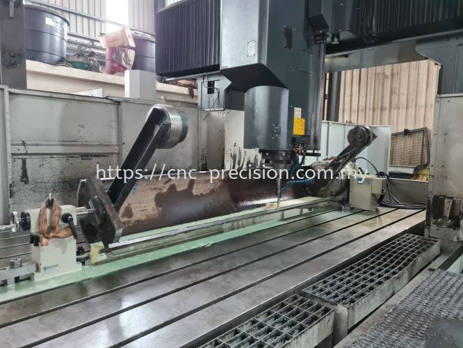 4 Axis Milling Large CNC Machining Parts