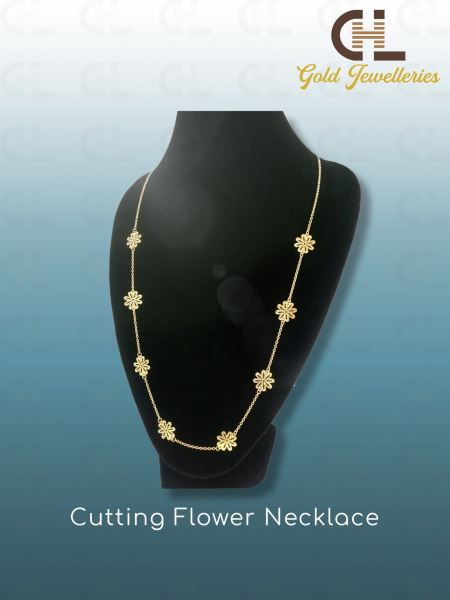 CUTTING FLOWER NECKLACE Necklaces Malaysia, Penang Manufacturer, Supplier, Supply, Supplies | CHL Innovation Industries Sdn Bhd