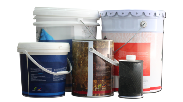 Paint Buckets Labelling Solutions Selangor, Malaysia, Kuala Lumpur (KL), Puchong Machine, Manufacturer, Supplier, Supply | Solo Labelling Sdn Bhd