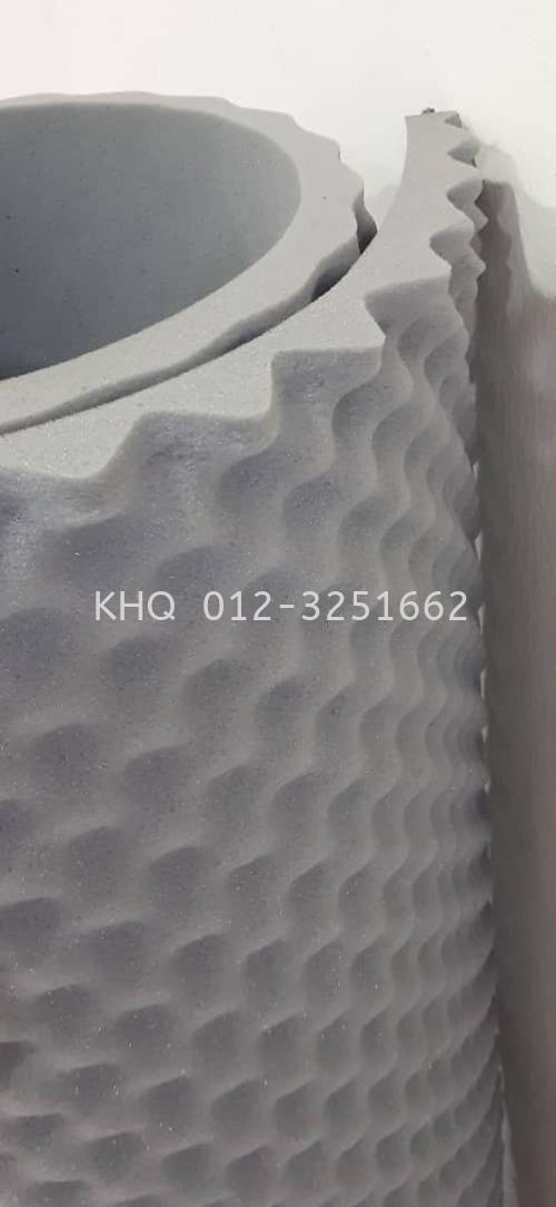 "1.5"" High Egg Crate Acoustic Foam"