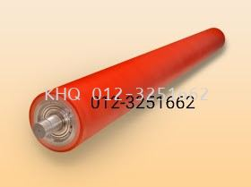 Rubber / PU / Silicone Roller / Re-coating
