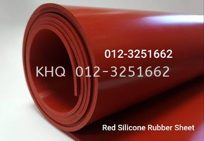 Red Silicone Rubber Sheet