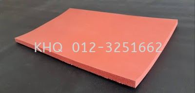 Red Silicone Sponge Sheet