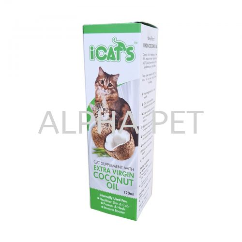 Cat Supplement With Extra Virgin Coconut Oil (ICVCO)