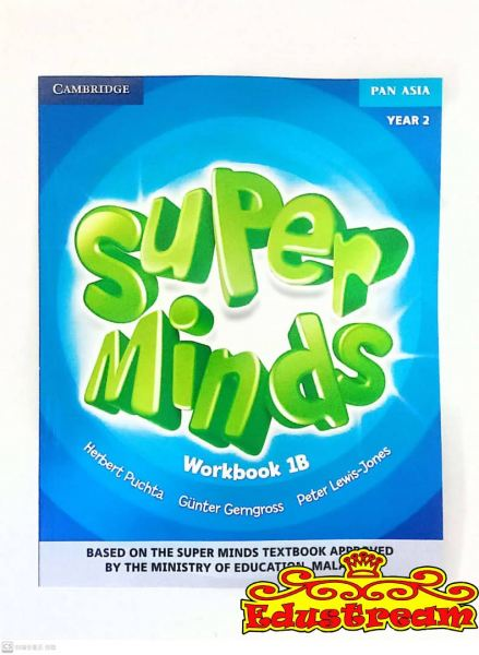 CAMBRIDGE Super MInds Year 2 Workbook 1B Book Stationery & Craft Johor Bahru (JB), Malaysia Supplier, Suppliers, Supply, Supplies | Edustream Sdn Bhd