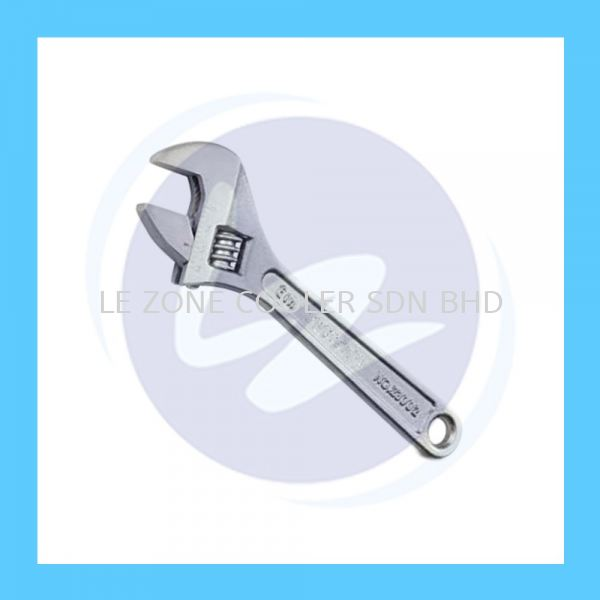 Adjustable Wrench Spanner - 10'' Spanner Hardware Kedah, Malaysia, Sungai Petani Supplier, Suppliers, Supply, Supplies   LE ZONE COOLER SDN BHD