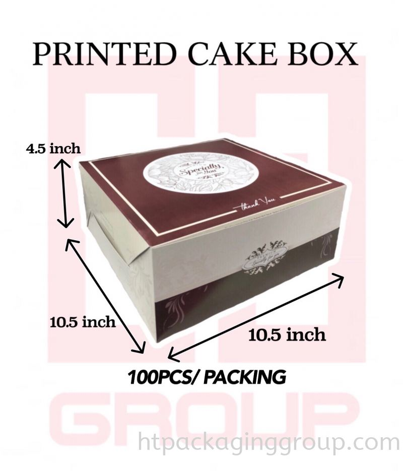 10.5inch X 10.5inch X 4.5inch£¨100PCS/PACKING£©
