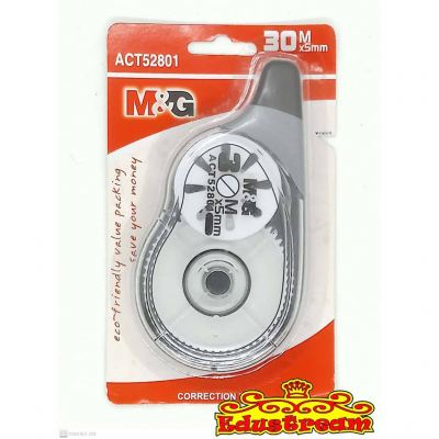 M&G CORRECTION TAPE 30M x5MM ACT52801