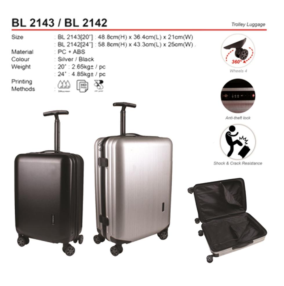 BL2143 / BL2142 Trolley Luggage (A)