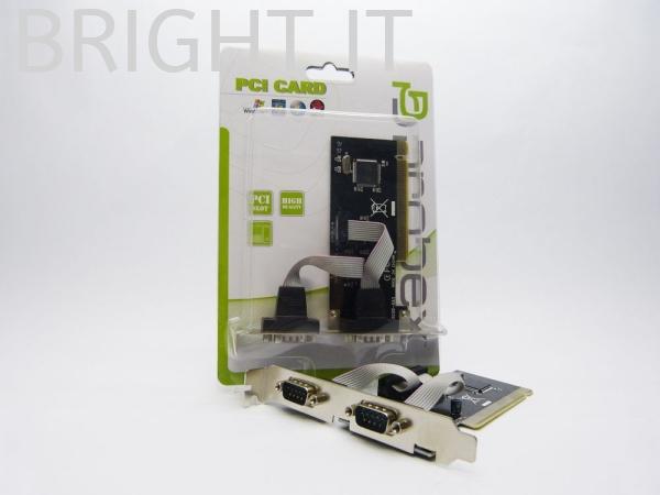 PCI SERIAL CARD - 2PORTS I/O Controler Card Accessories Computer Melaka, Malaysia, Batu Berendam Supplier, Suppliers, Supply, Supplies   BRIGHT IT SALES & SERVICES
