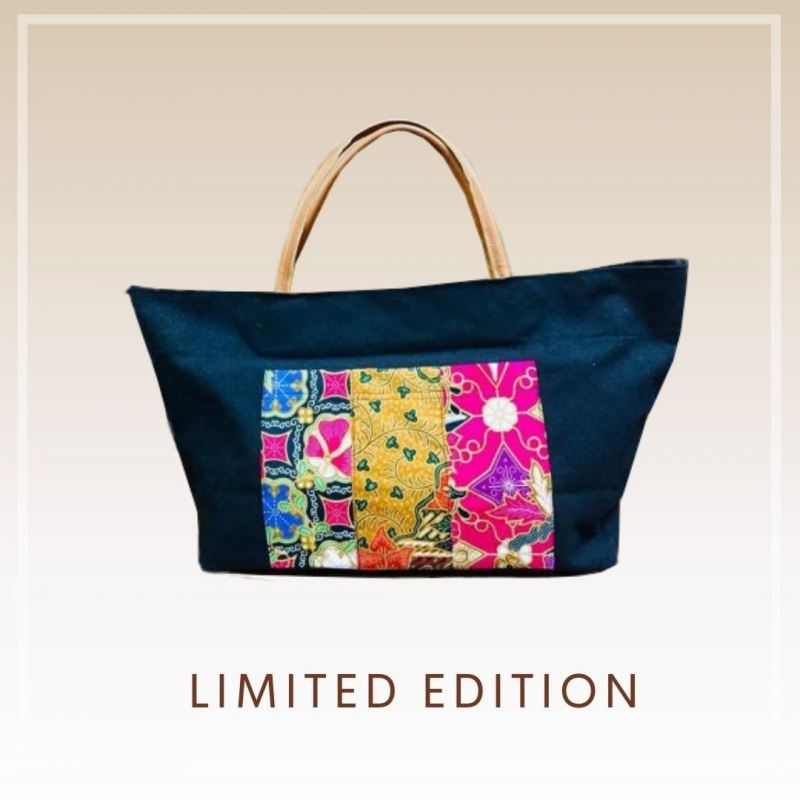 BTK(B)017 Batik Canvas Tote Bag