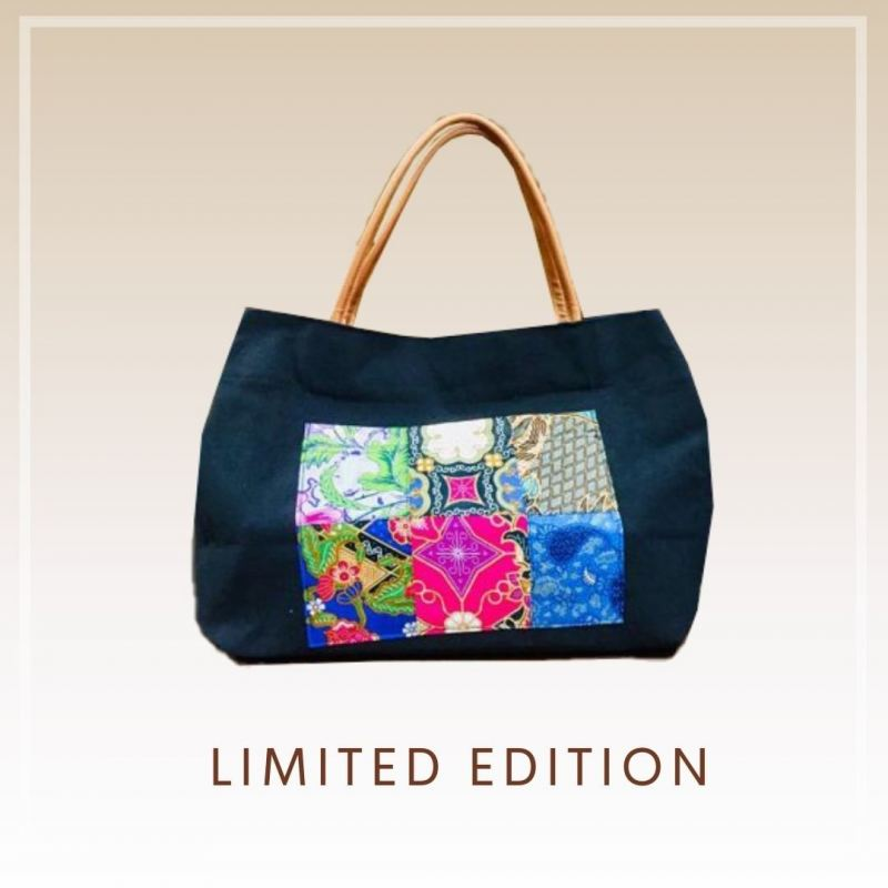 BTK(B)018 Batik Canvas Tote Bag
