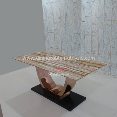 Luxury Marble Dining Table | Dilegno Onyx