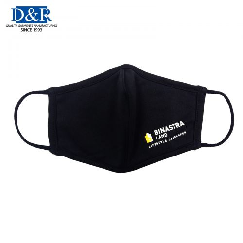 Reusable / Washable Fabric Mask with Antibacterial, Water repellent Microfiber fabric
