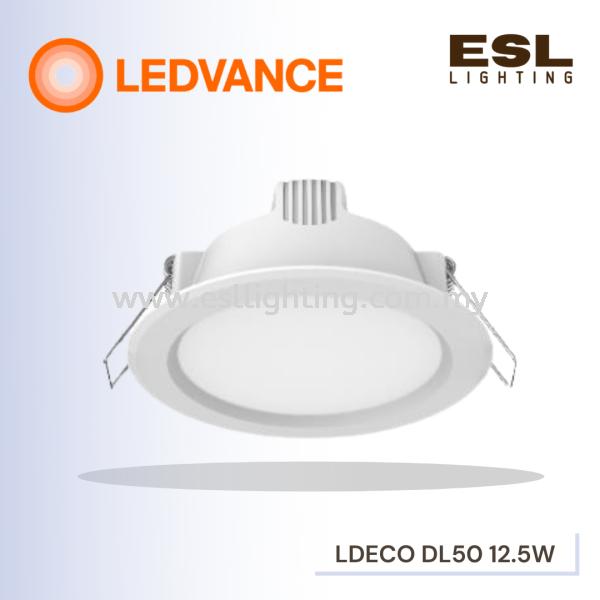 LEDVANCE LED ECO Downlight 12.5WATT GEN1 DOWNLIGHTS LEDVANCE Selangor, Malaysia, Kuala Lumpur (KL), Seri Kembangan Supplier, Suppliers, Supply, Supplies | E S L Lighting (M) Sdn Bhd