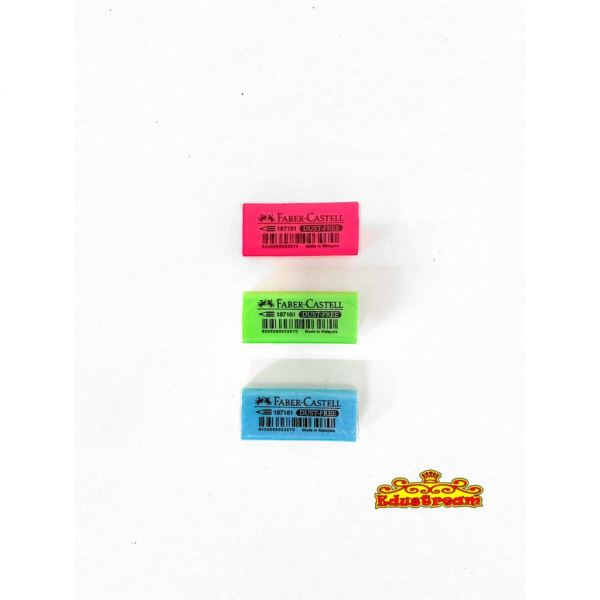 FABER CASTELL DUST FREE MIX COLOUR Eraser Writing & Correction Stationery & Craft Johor Bahru (JB), Malaysia Supplier, Suppliers, Supply, Supplies | Edustream Sdn Bhd