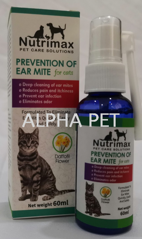 Nutrimax Prevention Of Ear Mite (NTMEAR)