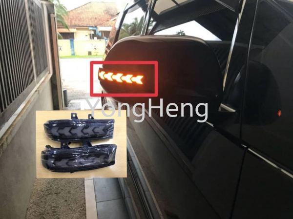 Side Mirror Sequential LED DRL [EX178] Toyota Vellfire / Alphard / Estima Accessories Johor Bahru JB Malaysia Supplier, Wholesaler | Yong Heng Auto Parts & Styling