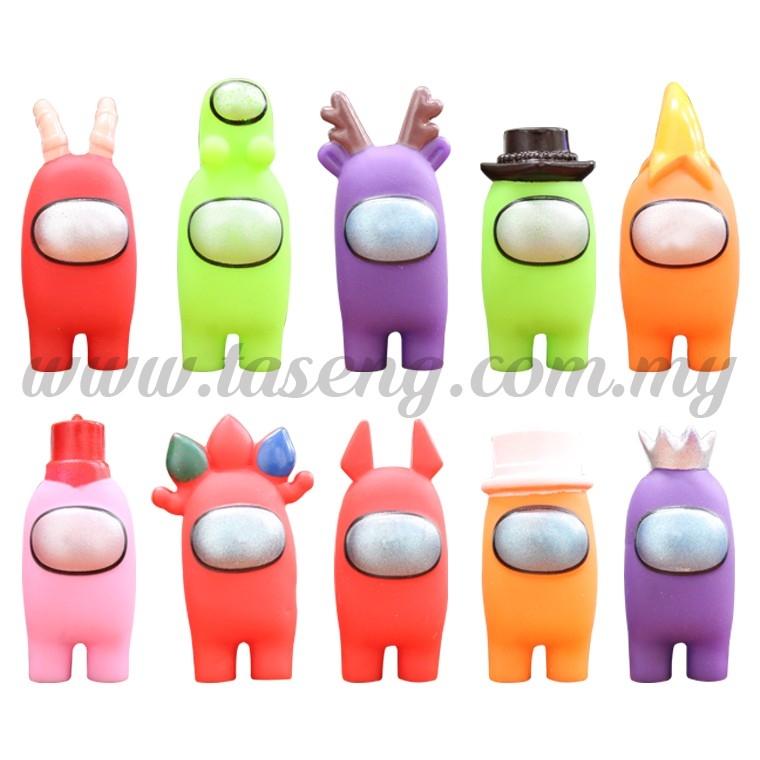 Among Us 7cm 10pcs - Color Figurines is Random (DC-AU-10)