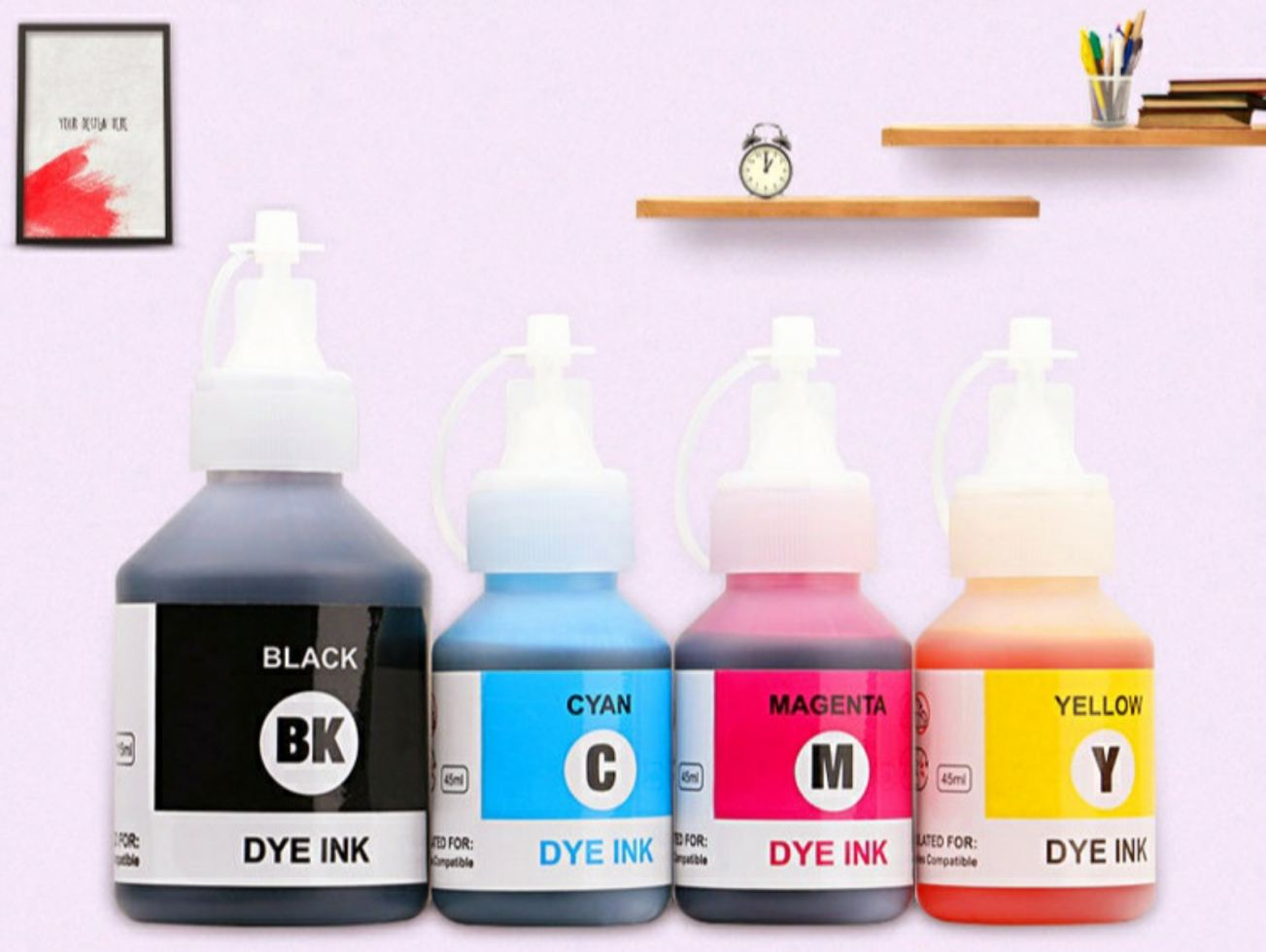 PREMIUM Dye Ink Fit for BROTHER Printer
