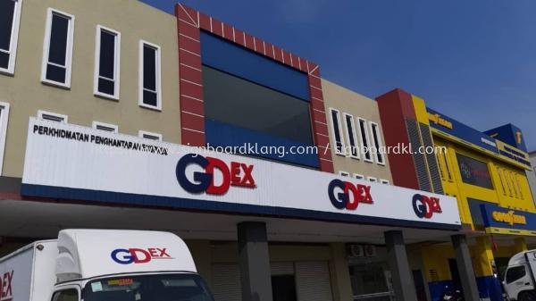 Gdex aluminum ceiling trim casing 3d box up led frontlit lettering signagre signbaord ALUMINIUM CEILING TRIM CASING 3D BOX UP SIGNBOARD Kuala Lumpur (KL), Malaysia Supplies, Manufacturer, Design   Great Sign Advertising (M) Sdn Bhd