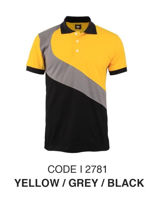 Yellow / Grey / Black