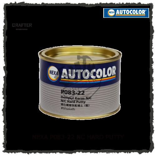 0.5kg NEXA AUTOCOLOR P083-22 NC HARD PUTTY