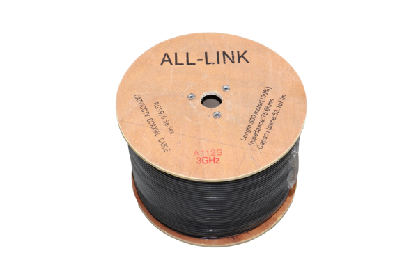 ALL-LINK - RG6 A112 RG6 Coaxial Cable Coaxial Cable Melaka, Malaysia.  | Starcom Asia Sdn Bhd