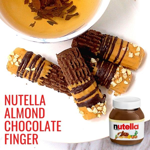 Ita Delight Nutella Almond Chocolate Finger Cookies Chef Ita Delight Handmade Kuih Raya Cookies Kuala Lumpur (KL), Malaysia, Selangor Supplier, Suppliers, Supply, Supplies   H & H Foodstuff Sdn Bhd