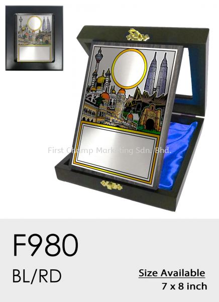 F980 Plaque Penang, Malaysia, Butterworth Supplier, Suppliers, Supply, Supplies | FIRST CHAMP MARKETING SDN BHD