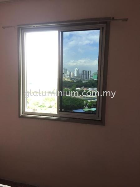 S. windows ( Na+ tinter glass)@Permaisuri Sri Penara, Kuala Lumpur  Aluminium Sliding Windows Selangor, Malaysia, Kuala Lumpur (KL), Cheras Supplier, Installation, Supply, Supplies | GL GLASS & ALUMINIUM TRADING